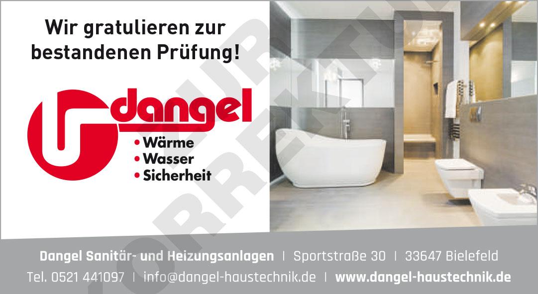 Dangel Sanitär- und Heizungsanlagen Bielefeld